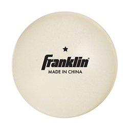 Franklin 1-Star 40 mm Table Tennis Balls 36-Pack