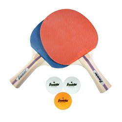 2-Player Table Tennis Paddle and Ball Set
