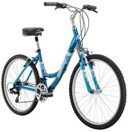 "Diamondback Women's Serene Classic 26"" 21-Speed Comfort Bike"