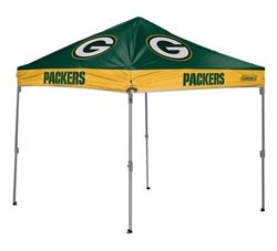 Coleman® Green Bay Packers 10' x 10' Straight-Leg Canopy