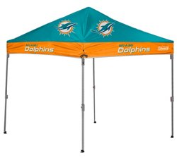 Coleman® Miami Dolphins 10' x 10' Straight-Leg Canopy