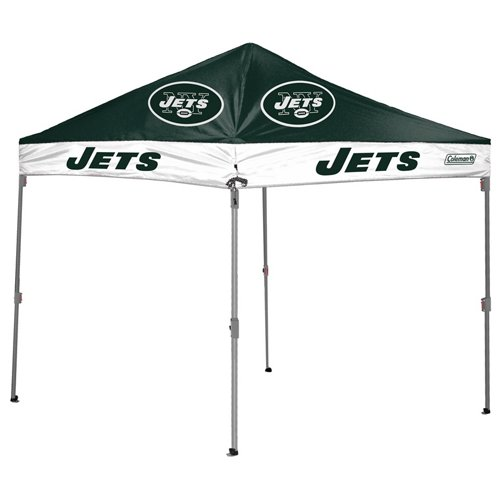 Coleman® New York Jets 10' x 10' Straight-Leg Canopy