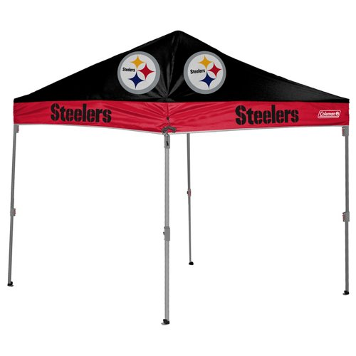 Coleman® Pittsburgh Steelers 10' x 10' Straight-Leg Canopy