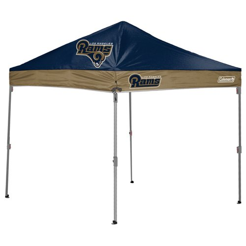 Coleman® Los Angeles Rams 10' x 10' Straight-Leg Canopy