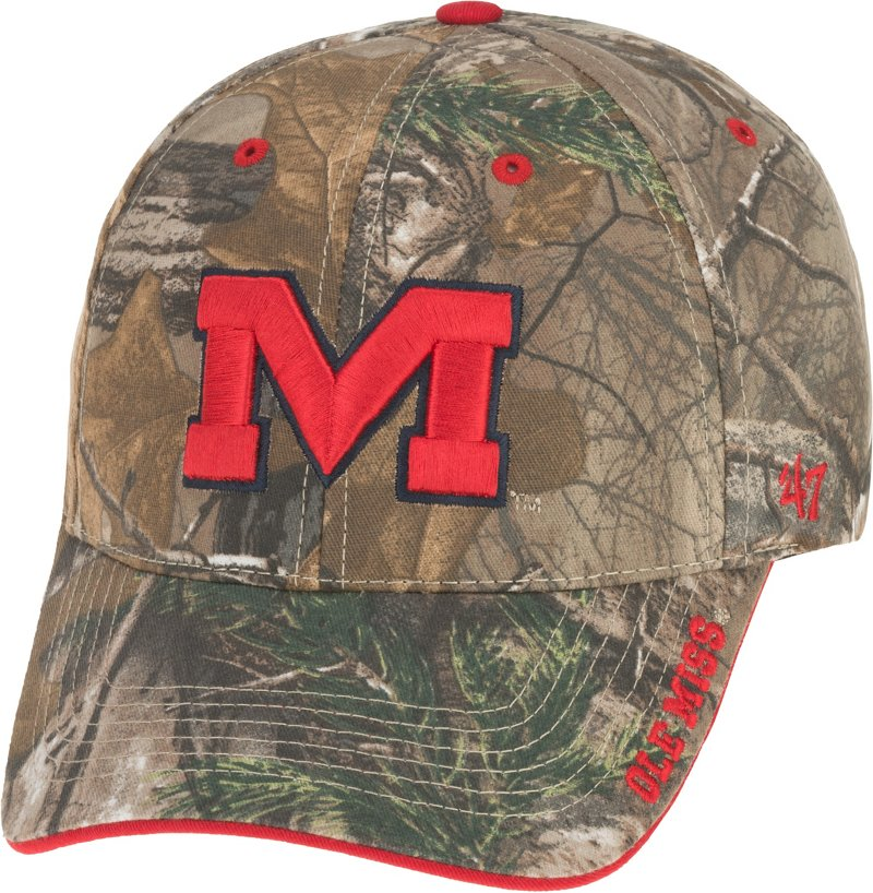 '47 Realtree Frost Cap (Red, Size One Size) - NCAA Licensed Product, NCAA Men's Caps at Academy Sports thumbnail