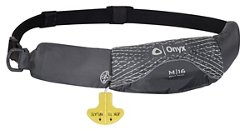 Onyx Outdoor Adults' M-16 Manual Inflatable Belt Pack