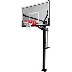 Mammoth 54 in Inground Tempered-Glass Basketball Hoop