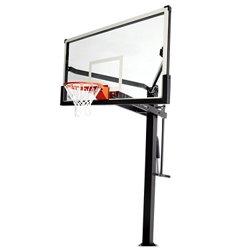 Mammoth 72 in Inground Tempered-Glass Basketball Hoop