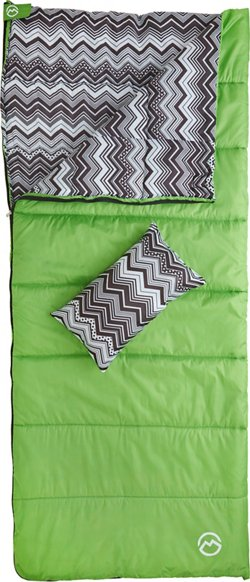 Magellan Outdoors Kids' Chevron Sleeping Bag Combo