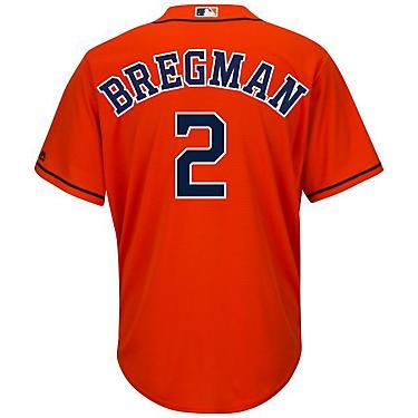 meet ba9ce 5cc5b Majestic Men's Houston Astros Alex Bregman #2 Cool Base Replica Jersey