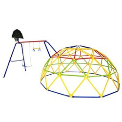 Geo Dome and Swing Set Combo