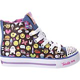 SKECHERS Girls' Twinkle Toes Shuffles Chat Time Shoes