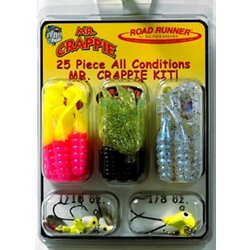 Mr. Crappie® 25-Piece Lure and Head Kit