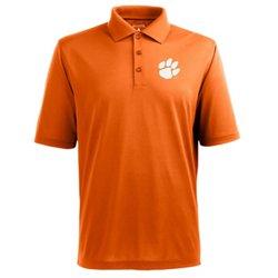 Antigua Men's Clemson University Piqué Xtra Lite Polo Shirt