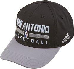 adidas Boys' San Antonio Spurs Practice Structured Adjustable Cap