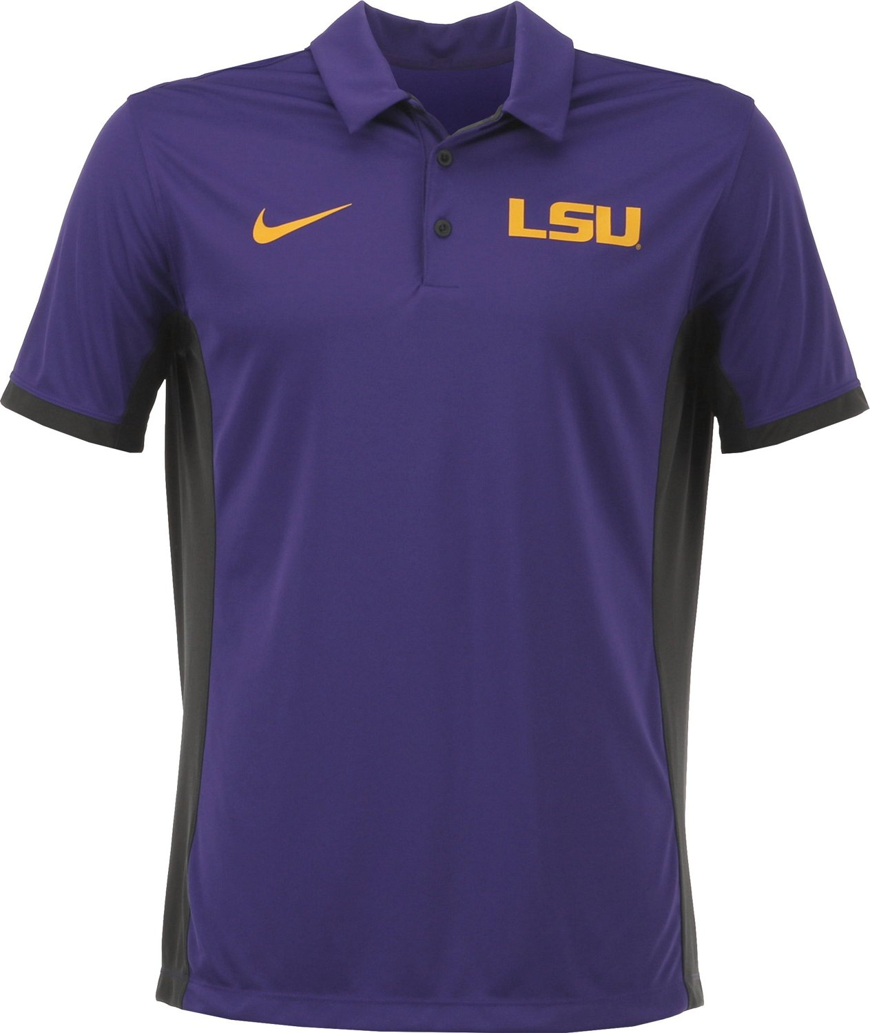 0dd774d9 Display product reviews for Nike Men's Louisiana State University Dri-FIT  Evergreen Polo Shirt