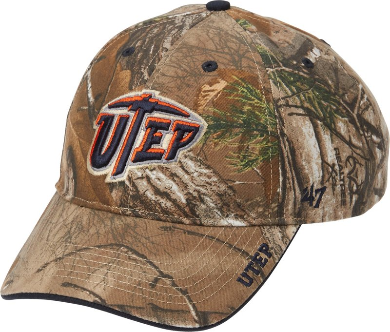 '47 Realtree Frost Cap (Orange Light, Size One Size) - NCAA Licensed Product, NCAA Men's Caps at Academy Sports thumbnail