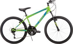 "Huffy Boys' Alpine 24"" 18-Speed Mountain Bike"