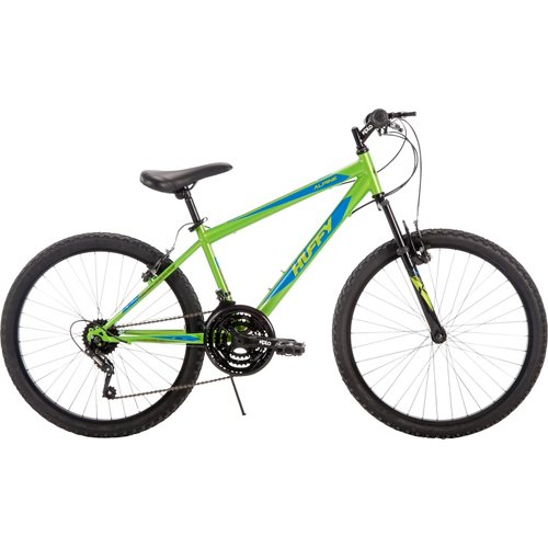 Huffy Boys' Alpine 24' 18-Speed Mountain Bike
