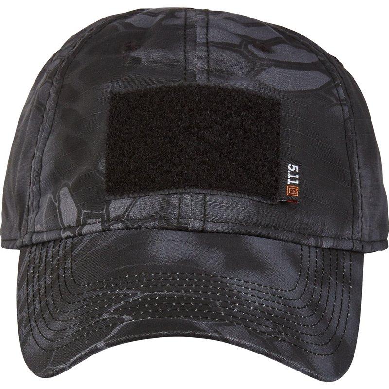 5.11 Tactical Men's Kryptek Cap Grey/Black - Men's Hunting/Fishing Headwear at Academy Sports thumbnail