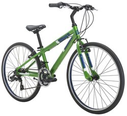 "Diamondback Boys' Insight 24"" 14-Speed Performance Hybrid Bike"