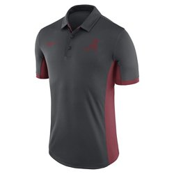 Nike Men's University of Alabama Dri-FIT Evergreen Polo Shirt