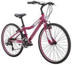 "Diamondback Girls' Clarity 24"" 14-Speed Performance Hybrid Bike"