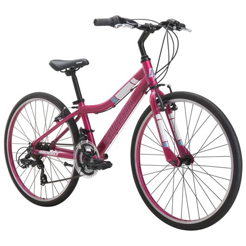 Diamondback Girls' Clarity 24' 14-Speed Performance Hybrid Bike