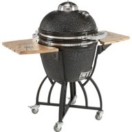 Outdoor Gourmet Kamado Ceramic Charcoal Grill