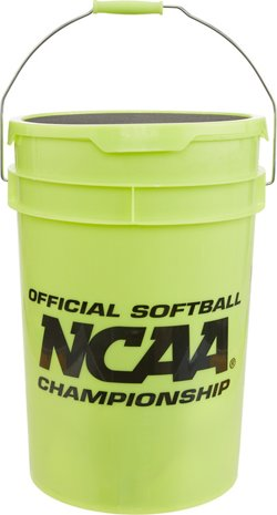 Rawlings NCAA Recreational 11 in Fast-Pitch Softballs 24-Count Bucket