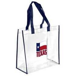 Forever Collectibles™ Houston Texans State Flag Clear Reusable Bag