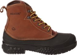 Wolverine Men's Swamp Monster Steel-Toe Lace Work Boots