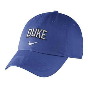 newest 6a107 f70d5 ... Nike Men s Duke University Heritage86 Wordmark Swoosh Flex Cap. Duke  Blue Devils Headwear. Hover Click to enlarge