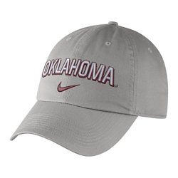Nike Men's University of Oklahoma Heritage86 Wordmark Swoosh Flex Cap