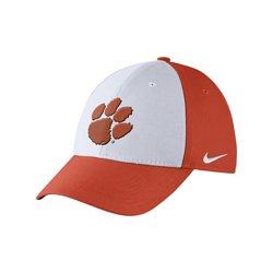 Nike Men's Clemson University Dri-FIT Wool Swoosh Flex Cap