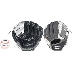 "Youth Meshtek 9.5"" T-ball Glove with Ball"