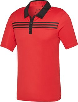 adidas™ Men's 3-Stripes Textured Polo Shirt
