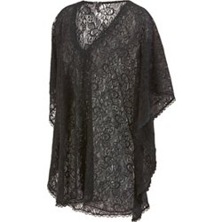 Women's Lace Poncho Cover-Up