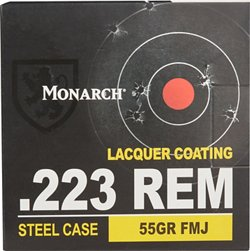 Monarch® .223 55-Grain Rifle Ammunition