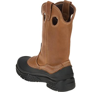 79b4adc642d Wolverine Men's Rival Swamp Monster EH Steel Toe Wellington Work Boots
