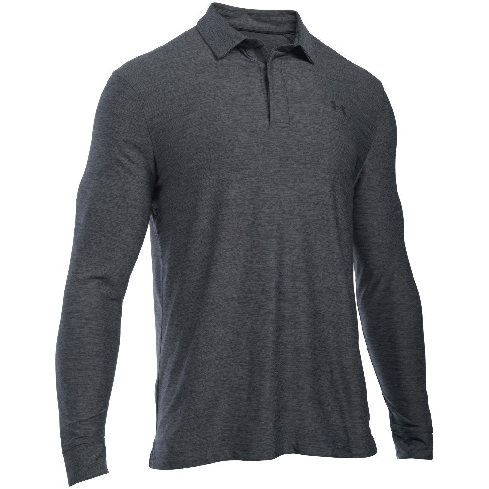 Under Armour Mens Playoff Long Sleeve Polo Shirt Academy