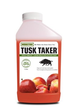 Moultrie Tusk Taker® Apple Smash 1-Liter Liquid Wild Hog Attractant