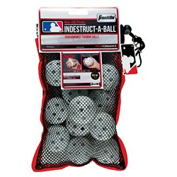"MLB Indestruct-a-Ball™ 5"" Limited-Flight Micro Baseballs 12-Pack"