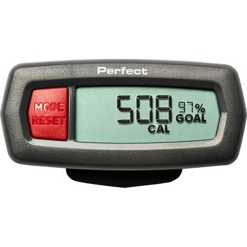 Perfect Fitness Pedometer Step, Distance and Calorie Tracker