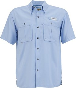 Magellan Outdoors Men's Aransas Pass Mini Check Short Sleeve Shirt