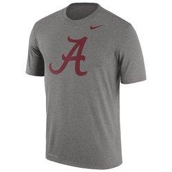 Nike Men's University of Alabama Dri-FIT Legend Logo Short Sleeve T-shirt
