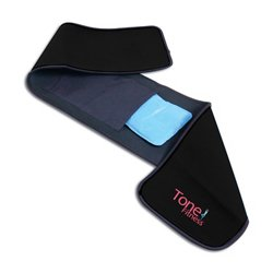 Tone Fitness Waist Slimmer Belt with Gel Pack