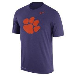 Nike Men's Clemson University Dri-FIT Legend Logo Short Sleeve T-shirt
