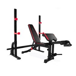 CAP Strength Olympic Bench with Preacher Pad and Leg Developer