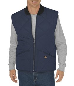 Men's Diamond Quilted Nylon Vest